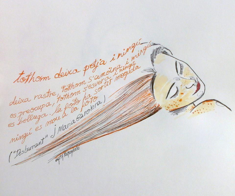 Dibuix de l'artista vigatana Marta Puigvendrelló